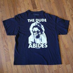 The Dude Abides The Big Lebowski Shirt Size XXL